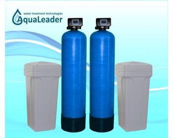 Пом'якшувач води безперервної дії AquaLeader FS100RX DUPLEX